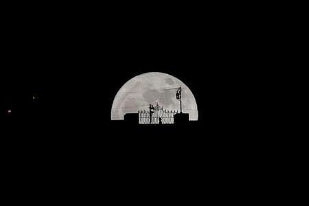 عکسهای جالب,عکسهای جذاب, ماه کامل
