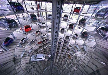 عکسهای جالب,عکسهای جذاب, پارکینگ طبقاتی خودرو