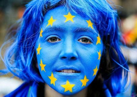عکسهای جالب,عکسهای جذاب,پرچم اتحادیه اروپا