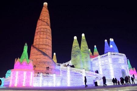 عکسهای جالب,عکسهای جذاب,مجسمه های یخی
