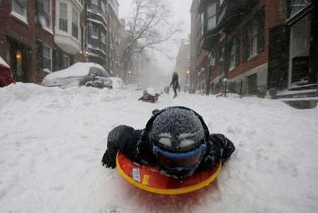 عکسهای جالب,عکسهای جذاب,بازی کودکان در برف