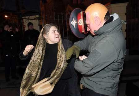 عکسهای جالب,عکسهای جذاب,زن ضد روسیه