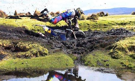 عکسهای جالب,عکسهای جذاب,موتورسوار آرژانتینی