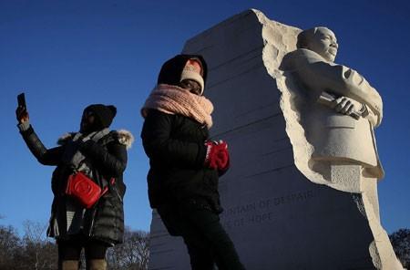 عکسهای جالب,عکسهای جذاب,مجسمه مارتین لوتر