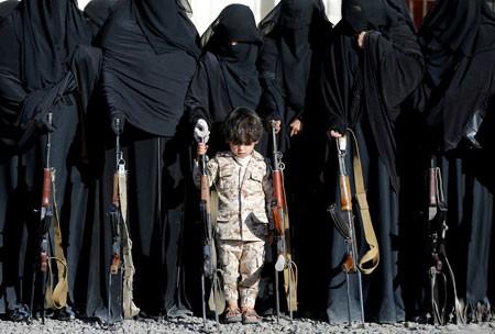 عکسهای جالب,عکسهای جذاب,زنان مسلح