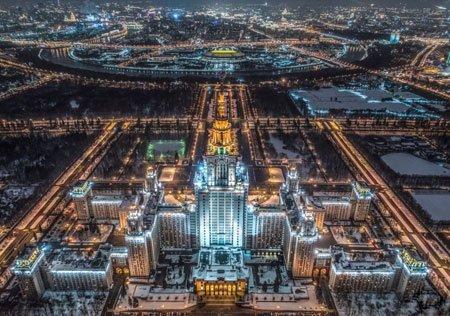 عکسهای جالب,عکسهای جذاب , دانشگاه دولتی مسکو