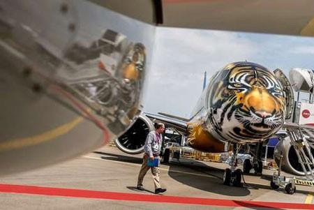 عکسهای جالب,عکسهای جذاب,رنگآمیزی یک هواپیما