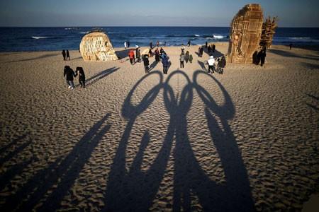 عکسهای جالب,عکسهای جذاب , ساخت حلقه المپیک