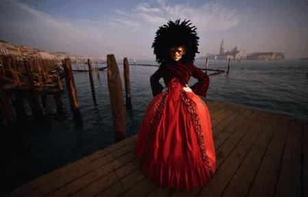 عکسهای جالب,عکسهای جذاب,کارناوال سالانه ونیز