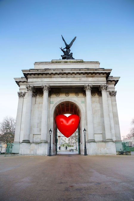 عکسهای جالب,عکسهای جذاب,دروازه ای در لندن