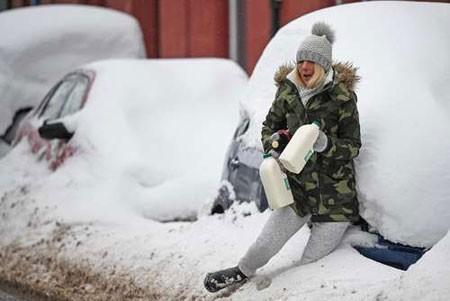 عکسهای جالب,عکسهای جذاب,آب و هوای زمستانی