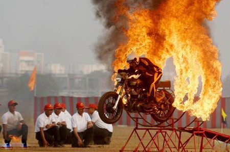 عکسهای جالب,عکسهای جذاب, موتورسواری