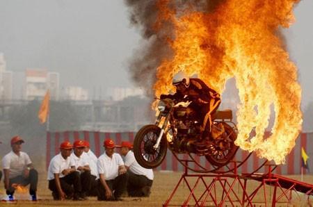 عکسهاي جالب,عکسهاي جذاب, موتورسواري