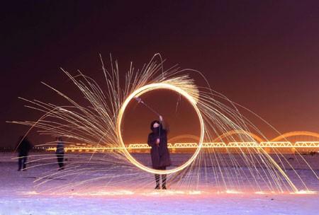 عکسهاي جالب,عکسهاي جذاب,آتش بازي