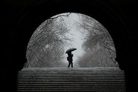 عکسهاي جالب,عکسهاي جذاب, منظره برفي