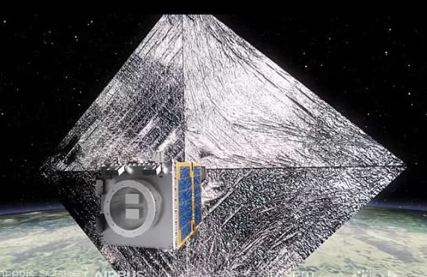 اخبار,اخبار علمی,ماهواره برای جمع آوری زباله های فضایی