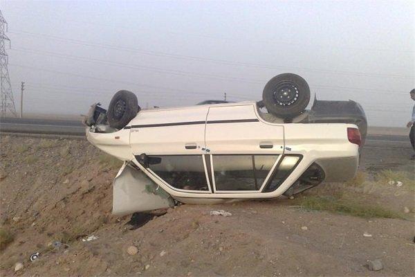 اخبار,اخبار حوادث,واژگونی خودرو