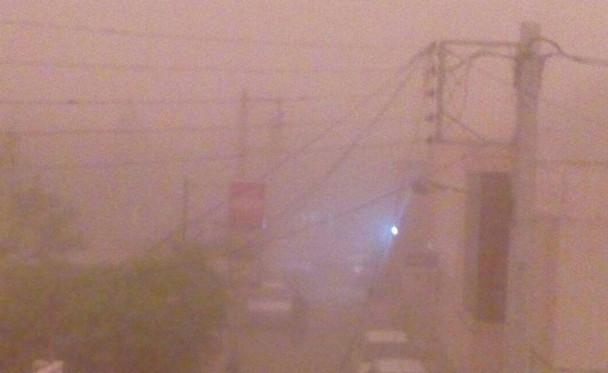 طوفان شن یزد را با خود برد /تصاویر