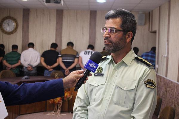 برخورد قاطع پلیس با هنجارشکنان در حوادث کازرون/ متهمان تبر داشتند