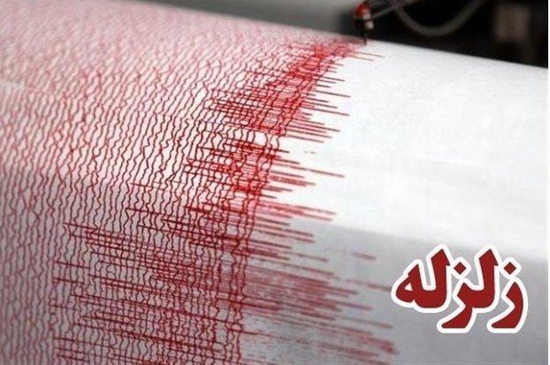 زلزله ۴ ریشتری حوالی