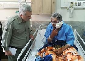 آخرین وضعیت چوپان آسیبدیده براثر حمله پلنگ