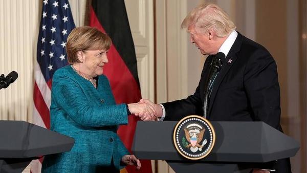 اخبار,اخبار اقتصادی,دونالد ترامپ و آنگلا مرکل