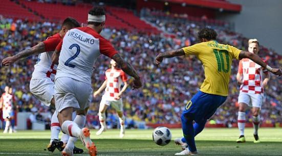 اخبار,اخبار ورزشی,تیم فوتبال برزیل و کرواسی