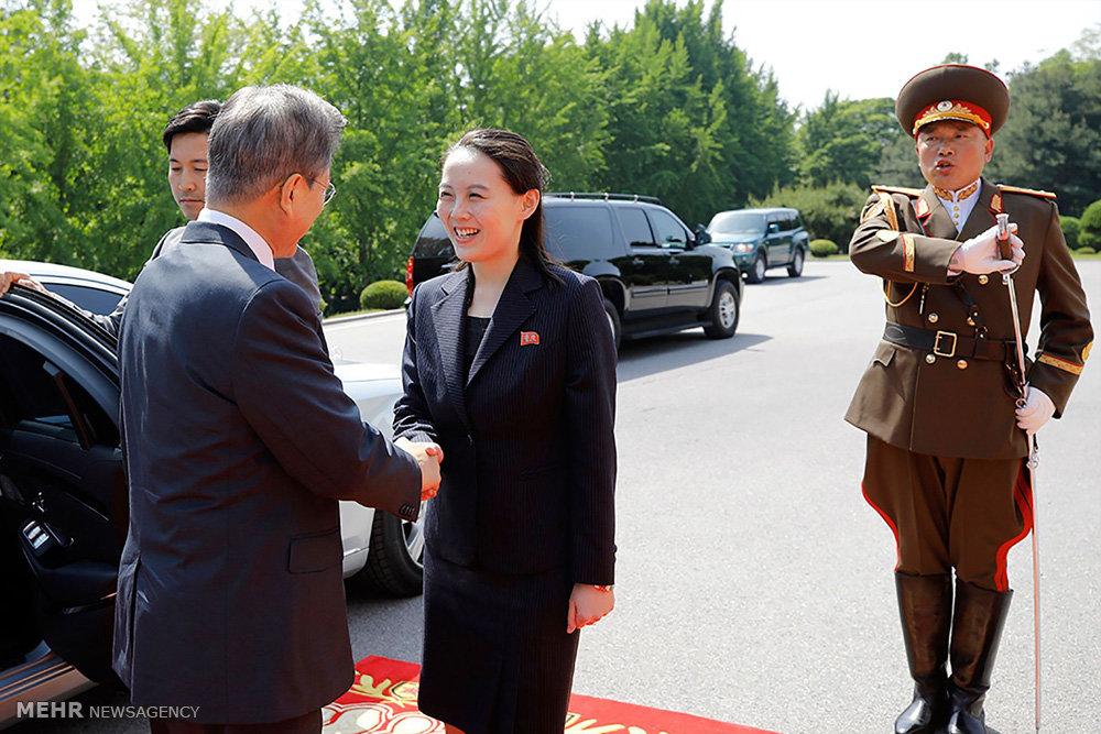اخبار,عکس خبری, دیدار رهبران دو کره