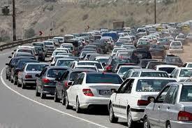 وضعیت جاده های شمال / جاده چالوس و هراز فردا یکطرفه میشود