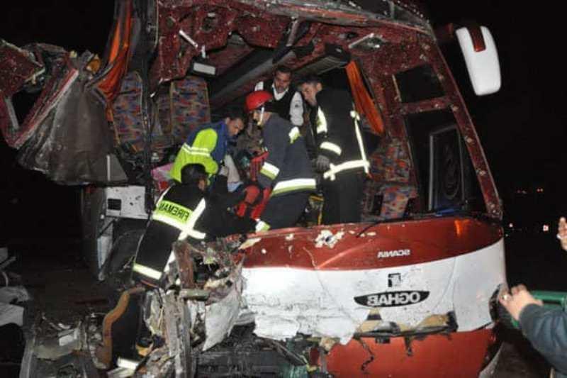 اخبار,اخبار حوادث,واژگونی اتوبوس