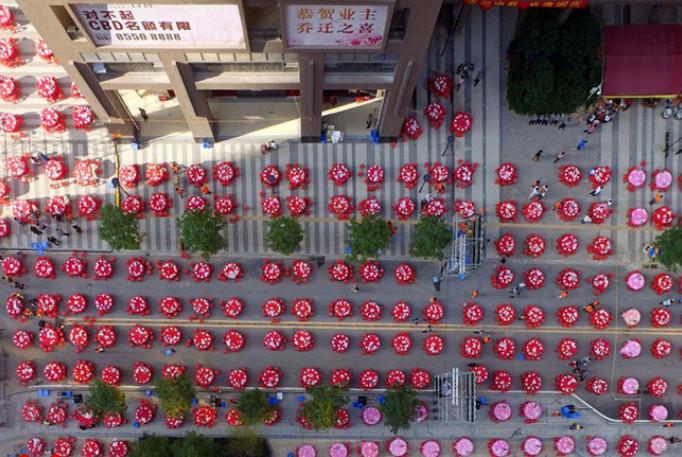 اخبار,اخبار گوناگون,عکس هوایی از کشور چین
