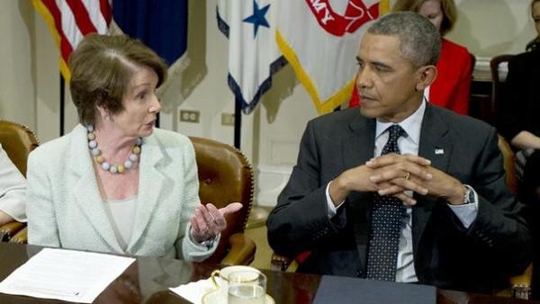 اخبار,اخبار بین الملل,اوباما و نانسی پلوسی