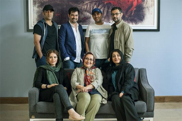 اخبار,اخبار فرهنگی,شهاب حسینی کنار پژمان جمشیدی و ساره بیات