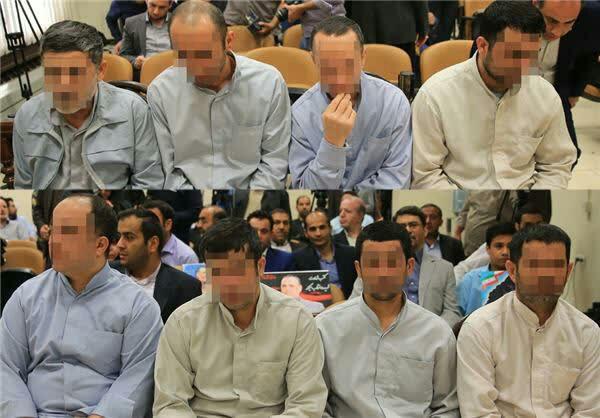 حکم اعدام 8 نفر از داعشی های حمله مجلس اجرا شد