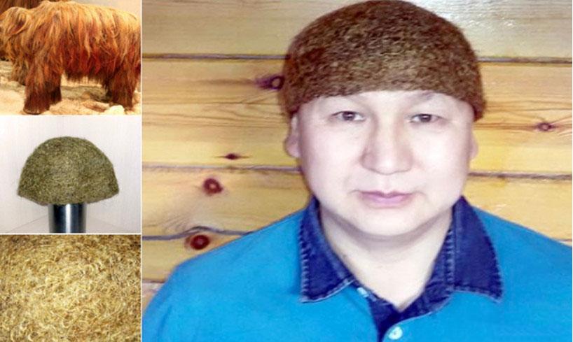 اخبار,اخبار گوناگون,کلاه از موی ماموت سیبری
