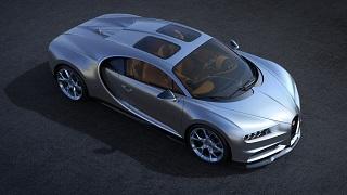 اخبار,دنیای خودرو,سوپر خودرو بوگاتی شیرون با سقف اسکای ویو