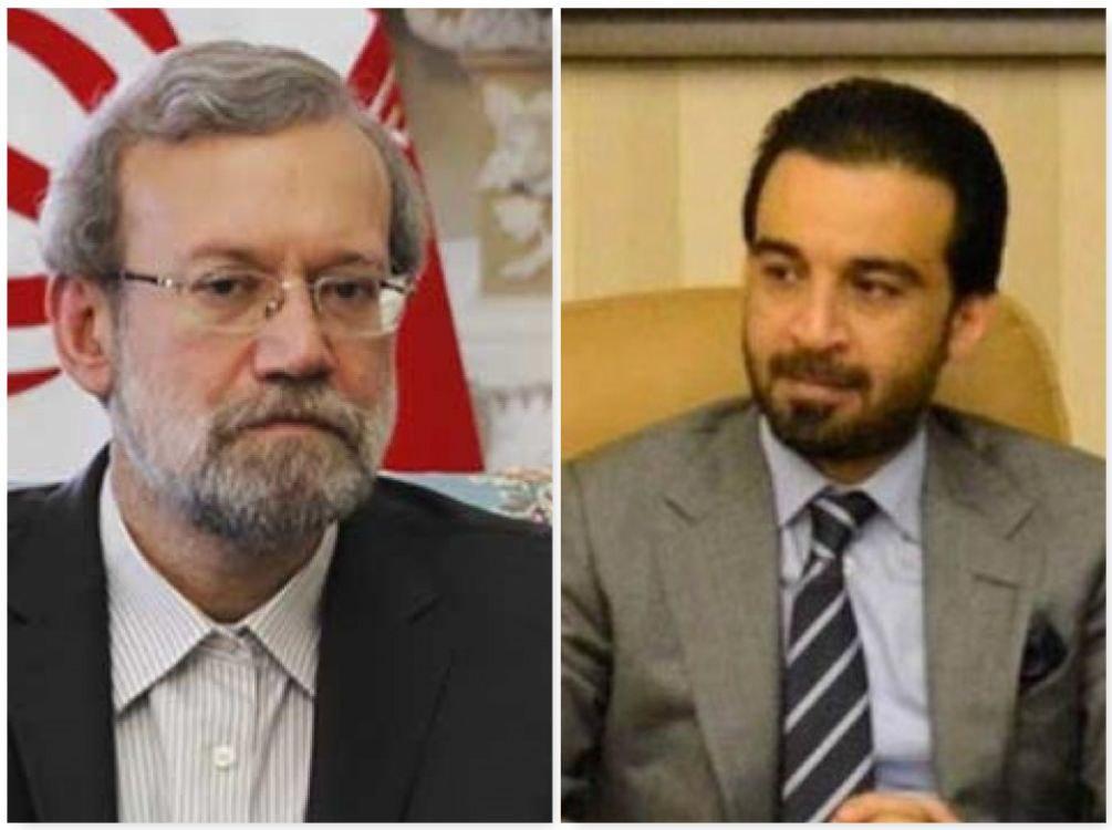 اخبار,اخبار سیاست خارجی,علی لاریجانی و محمد ریکان الحلبوسی
