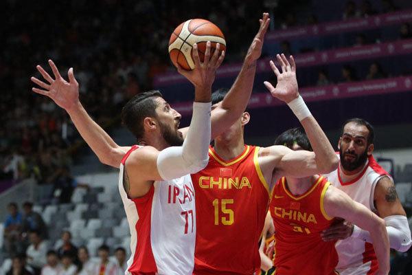 اخبار,اخبار ورزشی,تیم ملی بسکتبال ایران و چین