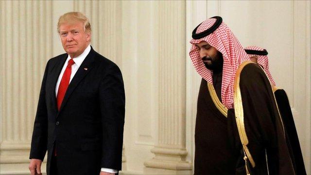 اخبار,اخبار بین الملل,ترامپ و محمد بن سلمان