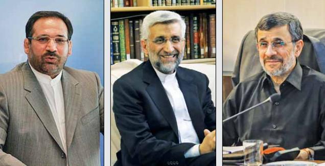 اخبار,اخبار سیاسی,محمود احمدی نژاد - سعید جلیلی - شمس الدین حسینی