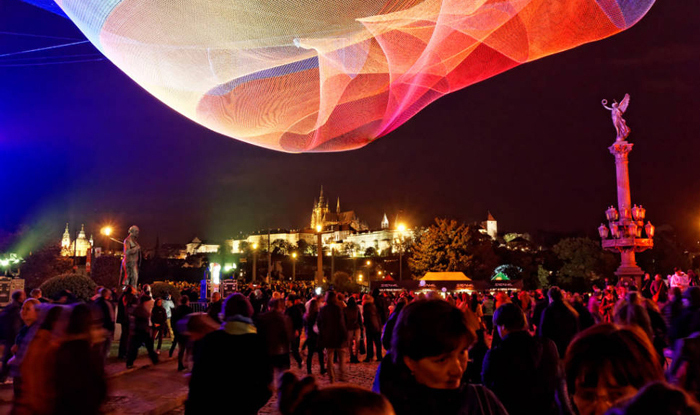 اخبار,اخبار گوناگون,فستیوال سالانه نور در پراگ