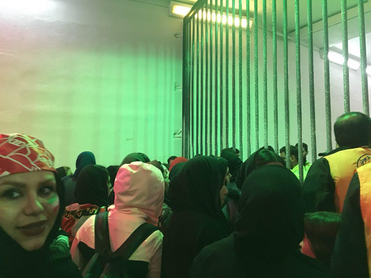 اخبار,اخبار ورزشی,حضور بانوان در دیدار پرسپولیس و کاشیما آنتلرز