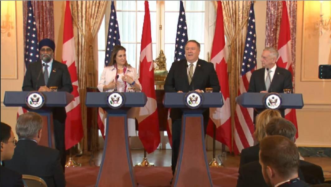 اخبار,اخبار بین الملل,نشست خبری مقامات آمریکا و کانادا