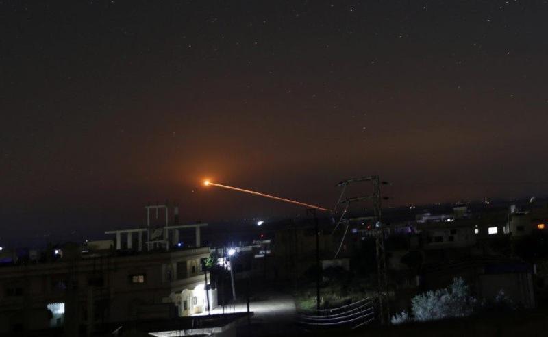 اخبار,اخبار بین الملل,حمله جنگندههای اسرائیل به ریف دمشق