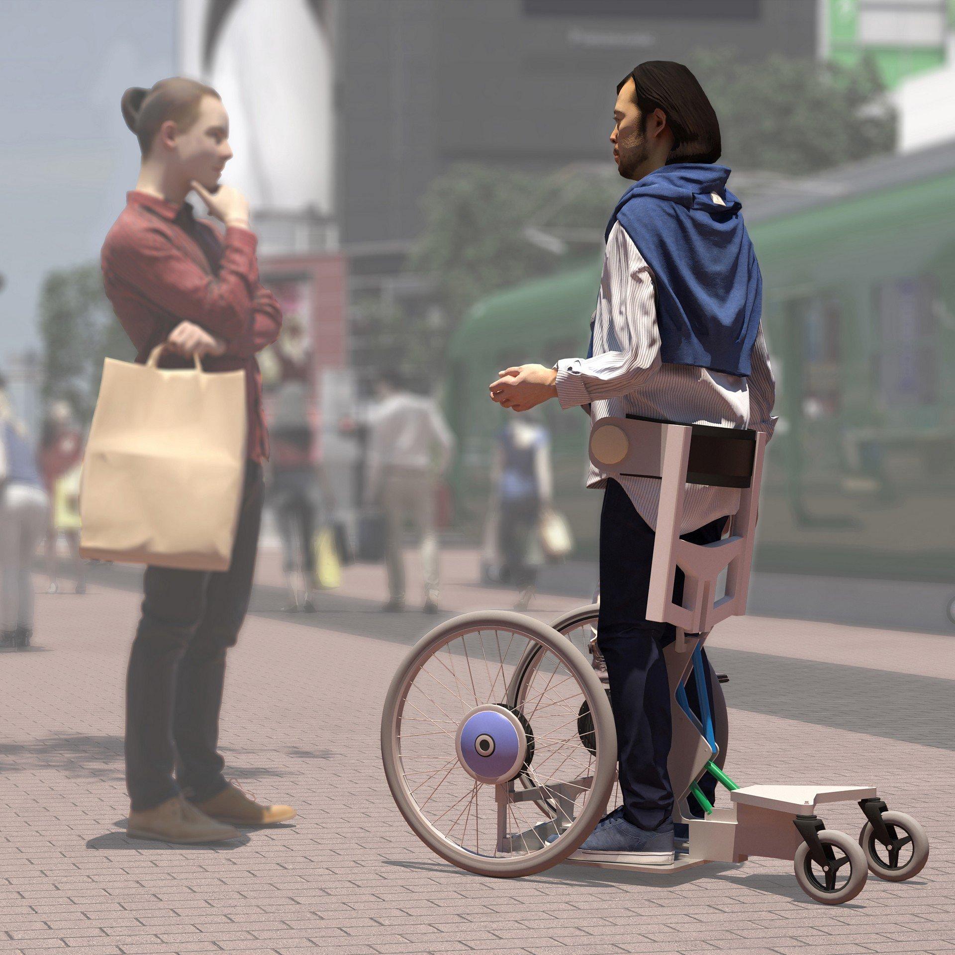 اخبار,اخبارعلمی وآموزشی, تویوتا صندلیهای چرخدار را متحول میکند