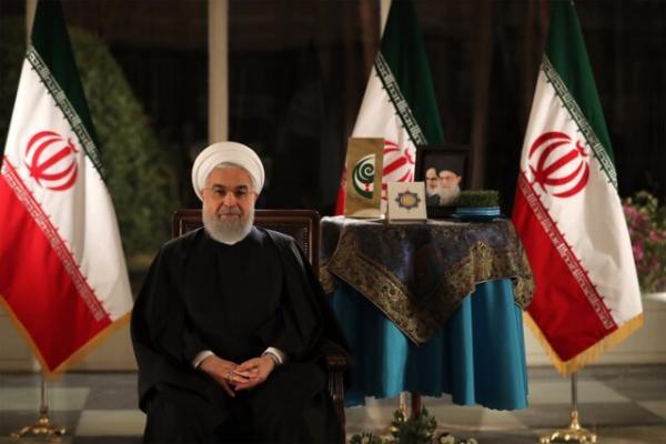 روحانی در پیام نوروزی سال 98: سال جدید، سال مهار تورم، متعادلکردن قیمت ارز و دوستی بیشتر با همه همسایگانمان است