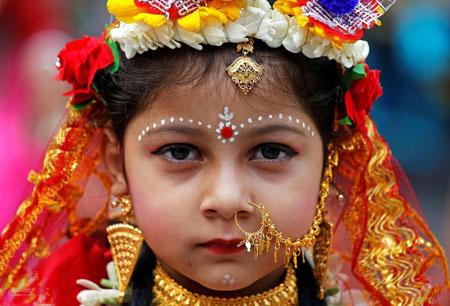 عکسهای جالب,عکسهای جذاب,دختر هندو
