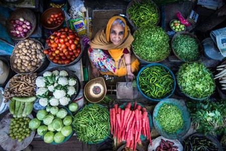 عکسهاي جالب,عکسهاي جذاب, دستفروش ميوه و سبزي