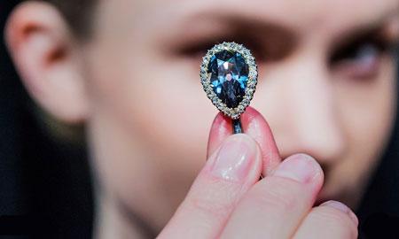 عکسهاي جالب,عکسهاي جذاب, الماس آبي