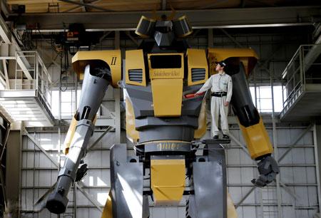 عکسهاي جالب,عکسهاي جذاب, ربات غول پيکر